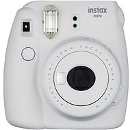 Fujifilm Instax Mini 9 Smoky Wite + Film 1x10 - Instant Camera