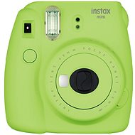 Fujifilm Instax Mini 9 Lime Green + film 1x10 - Instant Camera