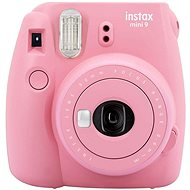 Fujifilm Instax Mini 9 pink red - Instant Camera