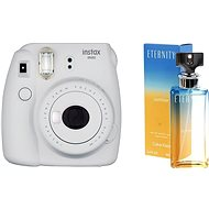 Fujifilm Instax Mini 9 Smoky White + CALVIN KLEIN Eternity Summer 2017 EdP 100ml - Instant Camera