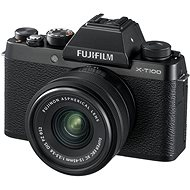 Fujifilm X-T100 Black + XC 15-45mm  f/3.5-5.6 OIS PZ - Digital Camera