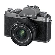 Fujifilm X-T100 silver + XC 15-45mm f/3.5-5.6 OIS PZ - Digital Camera