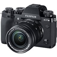 Fujifilm X-T3 black + XF 18-55 mm R LM OIS - Digital Camera