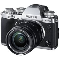 Fujifilm X-T3 silver + XF 18-55 mm R LM OIS - Digital Camera