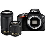 Nikon D3500 black + 18-55mm VR + 70-300mm VR - Digital Camera