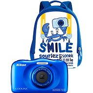Nikon COOLPIX W100 blue backpack kit - Children's Camera