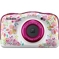 Nikon COOLPIX W150 Floral Backpack Kit - Children's Camera
