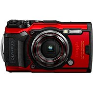 Olympus TOUGH TG-6, Red - Digital Camera