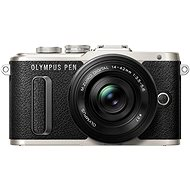 Olympus PEN E-PL8 black + Pancake lens + ED 14-42EZ black - Digital Camera