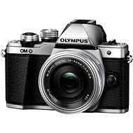 Olympus E-M10 Mark II Silver / Silver + ED 14-42mm EZ - Digital Camera