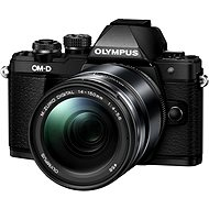 Olympus E-M10 Mark II Black / Black + ED 14-150 II - Digital Camera