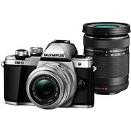 Olympus E-M10 Mark II Silver / Black + 14-42mm + 40-150mm II R DZ