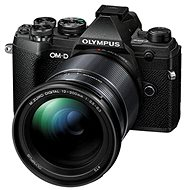 Olympus OM-D E-M5 Mark III + 12-200mm Black - Digital Camera