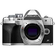 Olympus OM-D E-M10 Mark IV Body, Silver - Digital Camera
