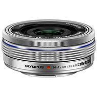 M.ZUIKO DIGITAL ED 14-42mm EZ silver - Lens