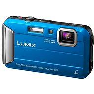 Panasonic LUMIX DMC-FT30 blue - Digital Camera