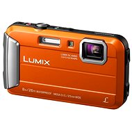 Panasonic LUMIX DMC-FT30 orange - Digital Camera