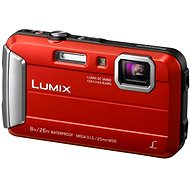Panasonic LUMIX DMC-FT30 Red - Digital Camera