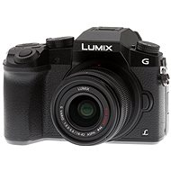 Panasonic LUMIX DMC-G7 Black + LUMIX G VARIO 14-42mm (F3.5-5.6) Lens - Digital Camera
