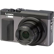 Panasonic Lumix DC-TZ90 Silver - Digital Camera