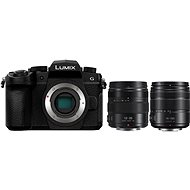 Panasonic LUMIX DC-G90 + Lumix G Vario 14-140mm - black + Panasonic Lumix G X 12-35mm f/2.8 II Power
