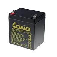 Long 12V 5Ah Lead Acid Battery HighRate F2 (WP5-12SHR F2) - Rechargeable Battery