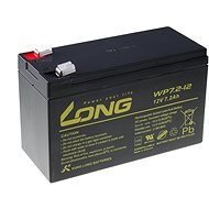 Long 12V 7.2Ah Lead Acid Battery F2 (WP7.2-12 F2) - Rechargeable Battery