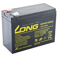 Long 12V 10Ah DeepCycle AGM F2 Lead Acid Battery (WP10-12SE) - Rechargeable battery