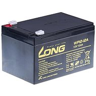 Long 12V 12Ah Lead Acid Battery F2 (WP12-12A) - Rechargeable Battery