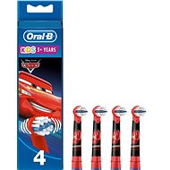 Oral-B Kids Cars Replacement Head 4pcs - Toothbrush Replacement Head