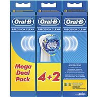 Oral-B Precision Clean 6 Pieces