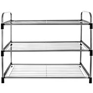Boot Metal/UH 3 Shelves - Shoe Rack
