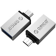 ORICO Micro USB to USB-A OTG Adapter Silver - Adapter