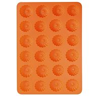 Orion Silicone Wreath Mould 24 Small Orange - Baking Mould