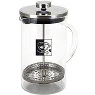 ORION Glass Jug/Stainless-steel French Press, BD, 0.6l
