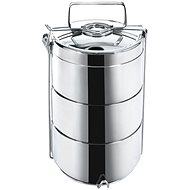 ORION Food Carrier stainless steel 3x 14cm - Snack Box
