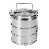 ORION Food Carrier stainless steel 3x 16cm - Snack Box