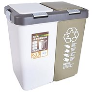 UH DUO DUST Waste Bin, 20l - Waste Bin