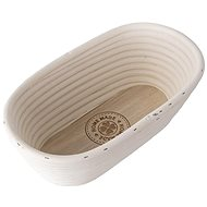 Oat rattan oval HOME MADE 32x15x9 cm - Kneading Bowl