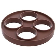 Silicone Mould for Fried Eggs 22cm BROWN - Baking Mould