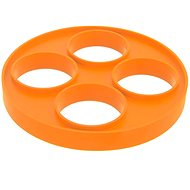 Silicone Mould for Fried Eggs 22cm ORANGE - Baking Mould