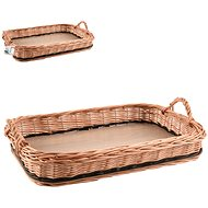 ORION Wicker Tray with Handles 46x31cm - Tray