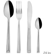 ORION Stainless-steel Cutlery 24 pcs BRIGHT