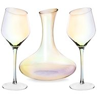 EXCLUSIVE LUSTER Glass 2 pcs + Carafe 1 pc - Glass Set