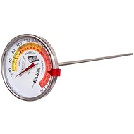 Stainless-steel Thermometer for Smokehouse diameter of 7.5cm with Clip - Thermometer