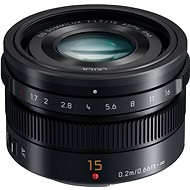 Panasonic Leica DG Summilux 15mm F1,7 ASPH black - Lens