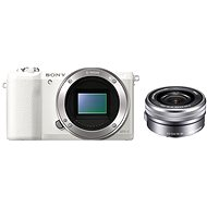 Sony Alpha A5100 White + 16-50mm Lens - Digital Camera