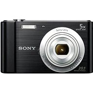 Sony CyberShot DSC-W800 - black - Digital Camera