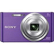 Sony CyberShot DSC-W830 Purple - Digital Camera