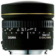 SIGMA 8 mm F3,5 EX DG CIRCULAR FISHEYE for Canon - Lens